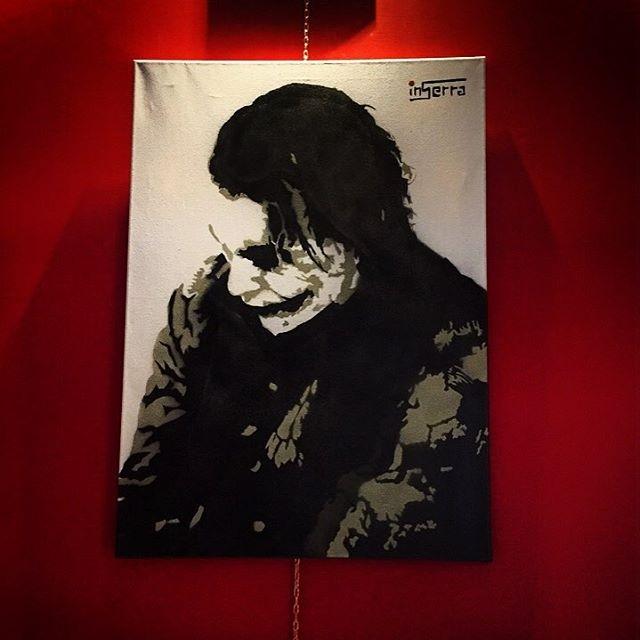 Joker inserra streetart