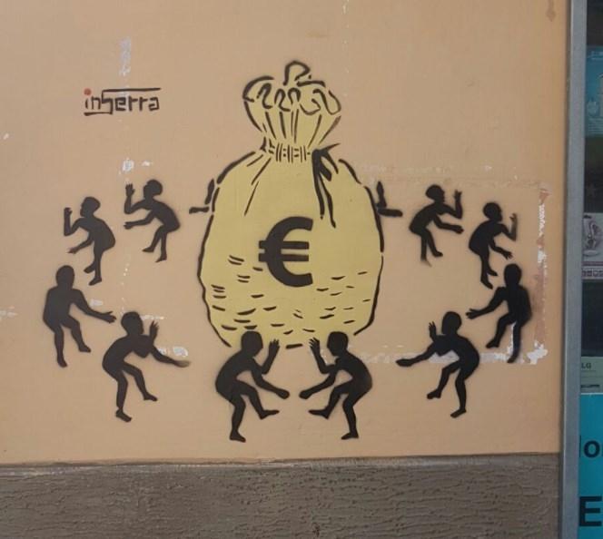 divinazione surreale inserra street art