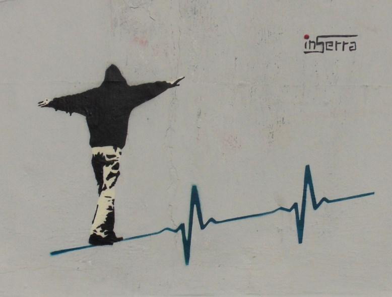 filo vita inserra street art rome italy urban art inserra