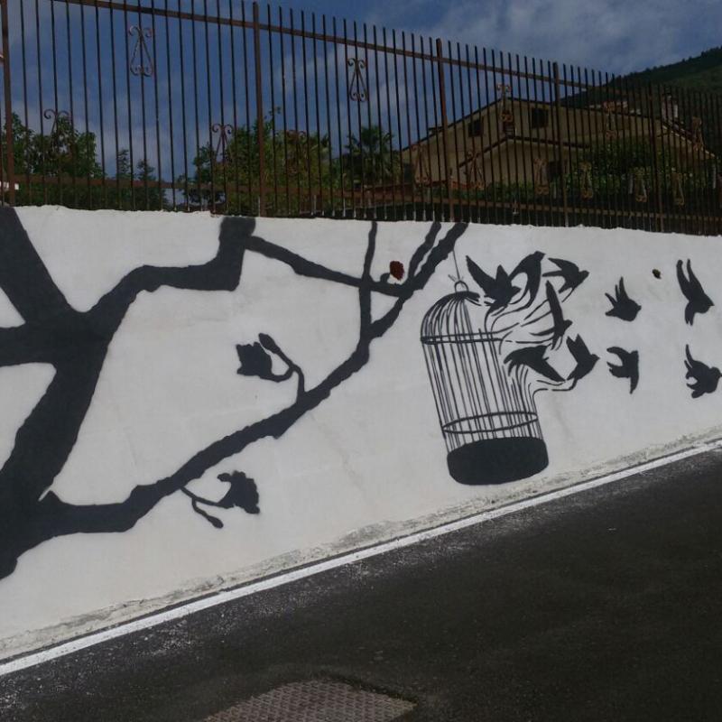 graffiti inserra salerno freedom