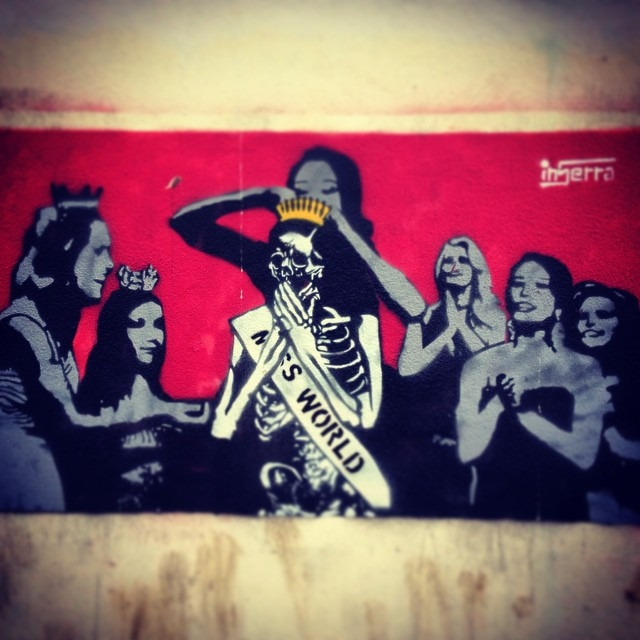 graffiti inserra napoli miss world