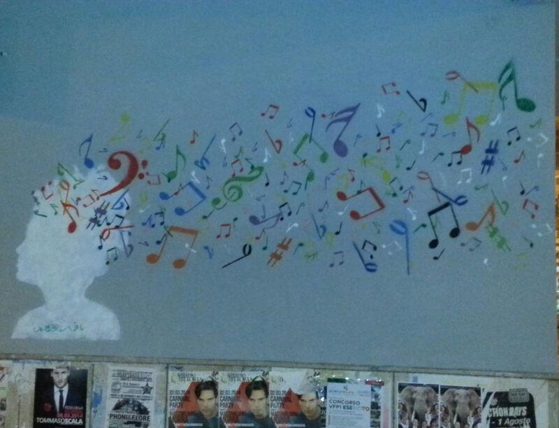 inserra street art napoli music