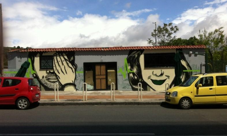 napoli fuorigrotta inserra street art ins napoli art italy