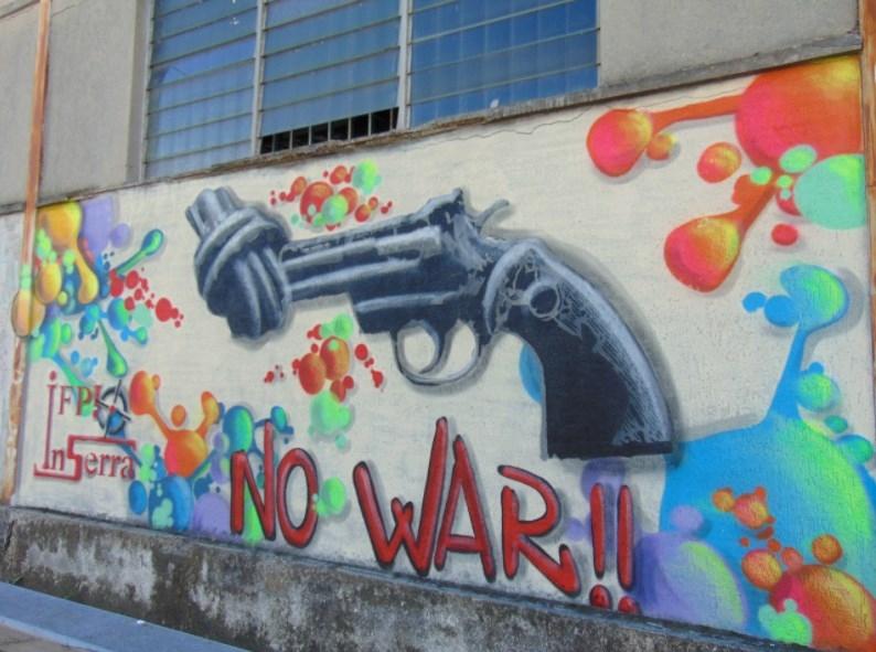 no war inserra ifp art inserra street art