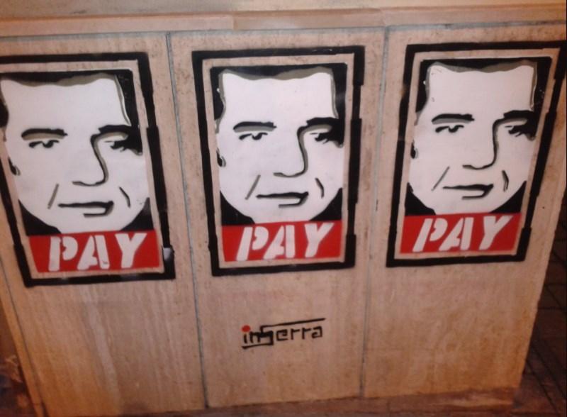 pay ins ernestone street art inserra