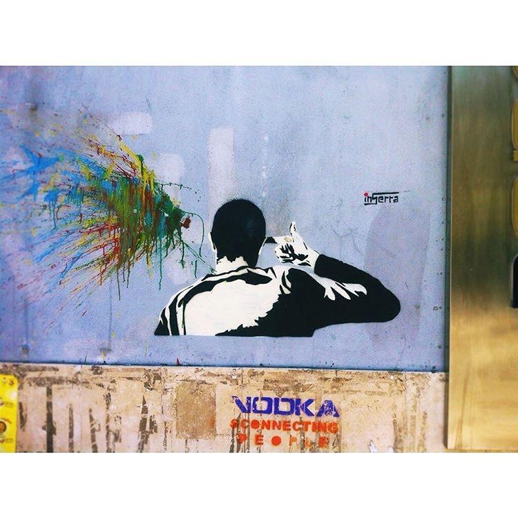 spara testa inserra streetart