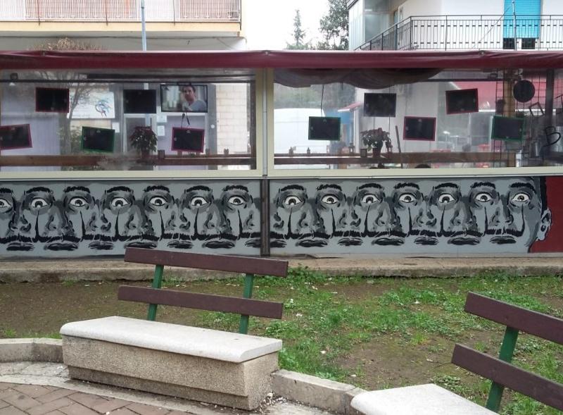 trip dalì op art inserra street art